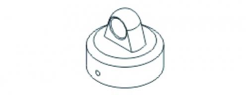 Stoßdämpferkappe X3 oben VE4 Jamara 504239