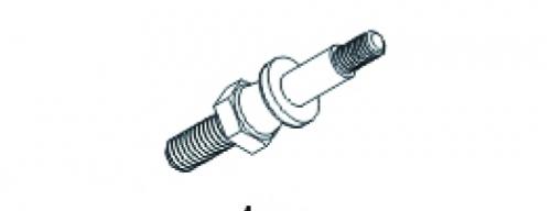 Kugelkopf für Stoßdämpferbef. Jamara 504240