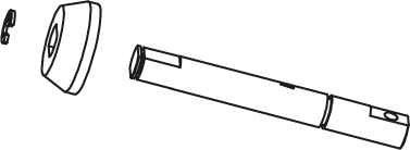 Getriebewelle Vo-Mj-Ti-LQ-SR1 Jamara 505024