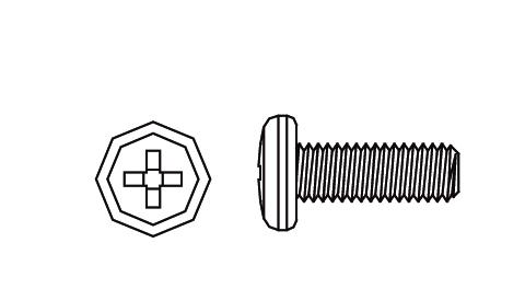 Schraube M3x12 Rundk. Vo-Mj-T Jamara 505057