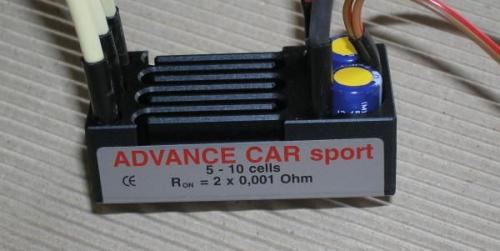 Jeti Car Sport Brushless Controller ADVSPORT