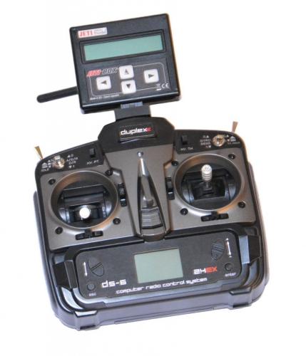 DS6 Mode 2(4) DuplexEX mit Jetibox und Rex6 HDEX-TDS6-M2