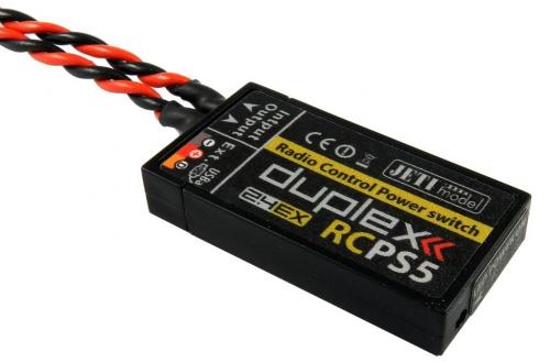 Jeti RC Powerswitch 5A JDEX-RCPS5