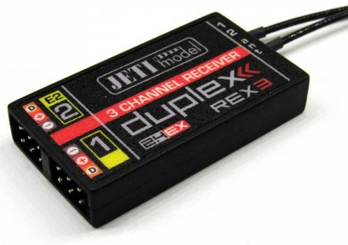 JETI Empfänger Duplex 2.4EX REX3 JDEX-RR3