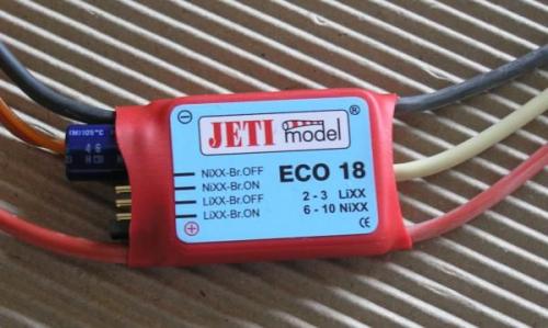 Jeti ECO 18A Brushless Controller JE-18
