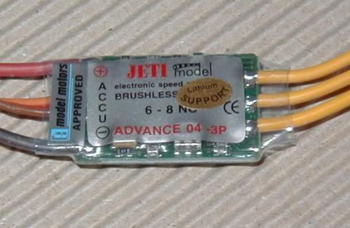 Jeti Advance plus 4 A JETIADV04