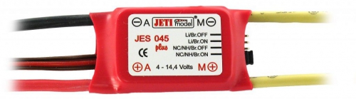 Jeti 45A Controller für Bürstenmotoren, LiPo... JJ-045