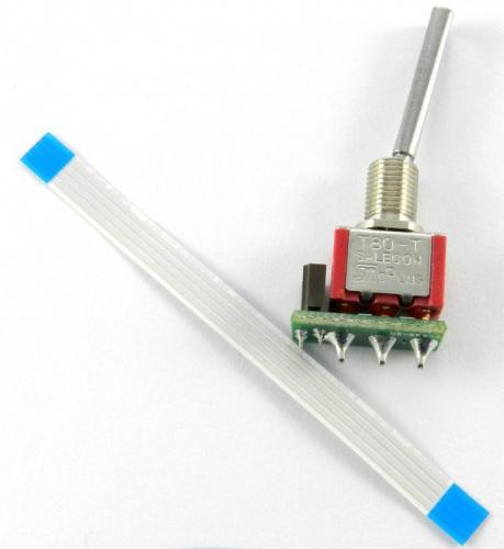 Jeti Schalter lang 2 Pos. für DS-16 JMS-DS-TSL2