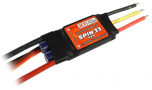 Jeti Spin 33 Pro BL Controller mit getaktetem BEC JSP-33