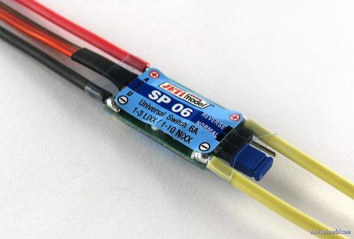 Jeti Universal Switch 6A SP6