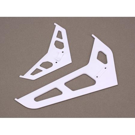 Blade Leitwerk / Heckfinne, weiss: B450 Horizon BLH1672