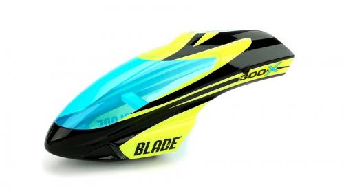 Blade optionale Kabinenhaube Schwarz / Gelb: 300 X Horizon BLH4542A