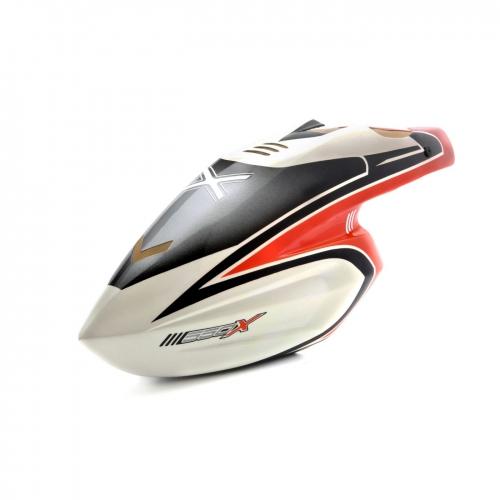 Blade 550X: Kabinenhaube Rot Horizon BLH5520R