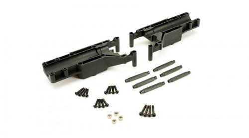 Blade  550 X : Heckrotorgehäuse Horizon BLH5535