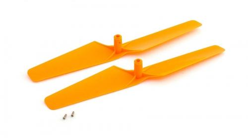 Blade Propeller rechtsdrehend, orange (2 Stk): mQX Horizon BLH7524