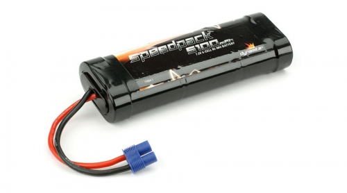 Dynamite Speedpack 6-Zellen 5100mAh Flat-NiMH-Akku m. EC3-Anschluss Horizon DYN1090EC