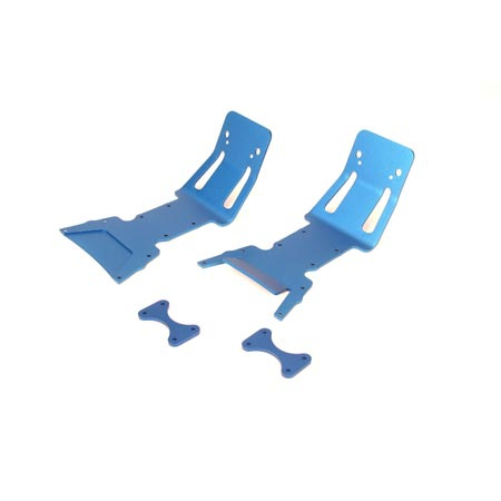Dynamite Aluminiumdämpfer, blau: LST. LST2.AFT Horizon DYN7206B