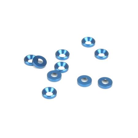 Dynamite 2mm Senkscheibe blau (10) Horizon DYN8502