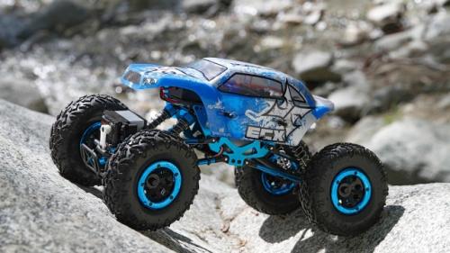 Temper 1:18 4WD Rock Crawler Brushed: RTR INT Horizon ECX01003i