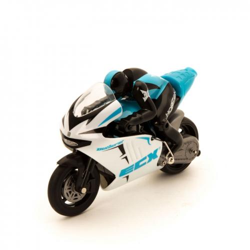 ECX Outburst 1:14 Motorrad RTR blau Horizon ECX01004T1