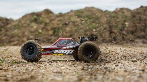 ECX AMP MT 1:10 2WD Buggy weiss / rot RTR INT Horizon ECX03029IT2