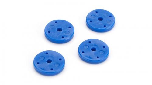 ECX V2 Stoßdämpferkolben 1,2 x 4, blau: Revenge E/N Horizon ECX1988
