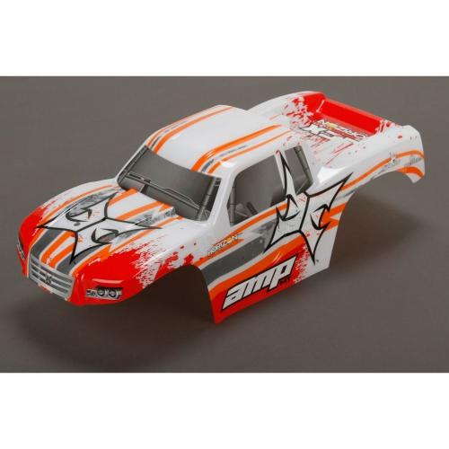 ECX Karosserie weiss /orange 1:10 AMP MT Horizon ECX230016