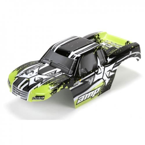 ECX Karosserie schwarz /grün 1:10 AMP MT Horizon ECX230017