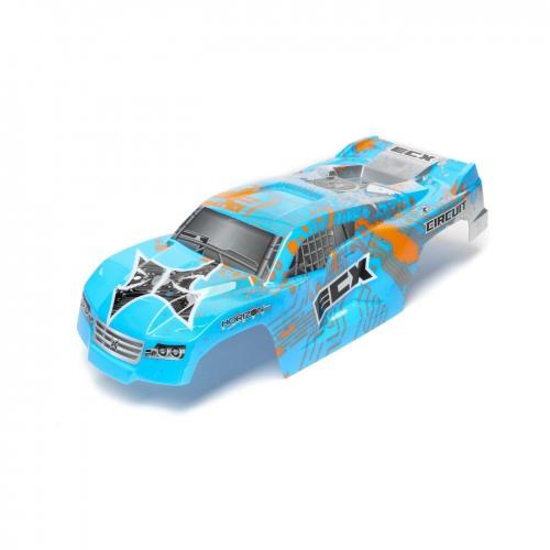 ECX Karosserie, blau/orange: 1/10 2WD Circuit Horizon ECX230025