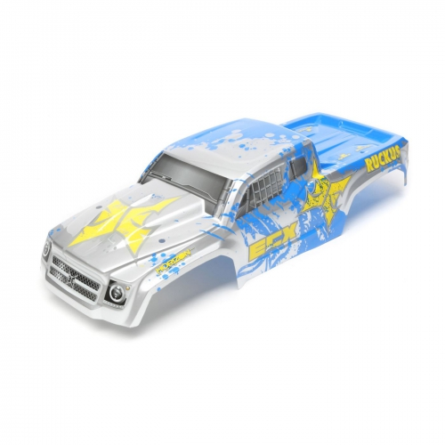 ECX Karosserie, silber/blau: 1/10 2WD/4WD Ruckus Horizon ECX230027