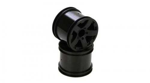 ECX Felge vorne/hinten (2 Stk), schwarz: Circuit Horizon ECX43004