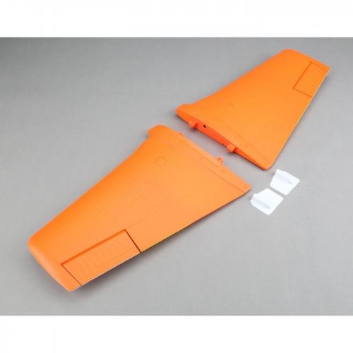 E-flite lackierte Tragfläche m. Servoabdeckungen: Rare Bear Horizon EFL1220