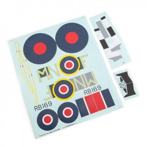 E-flite Dekorbogen: Spitfire Mk XIV 1,2 m Horizon EFL8606