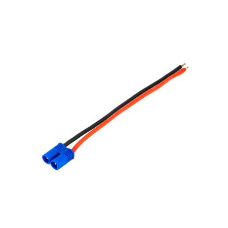 E-flite  EC2 Stecker m. 4 Kabel , 18Awg Horizon EFLAEC204