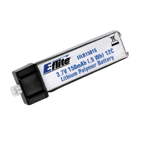 E-flite 1S 3,7V 150mAh 25C LiPo-Akku Horizon EFLB1501S25
