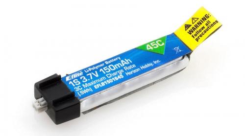 E-flite 1S 3,7V 150mAh 45C LiPo-Akku Horizon EFLB1501S45