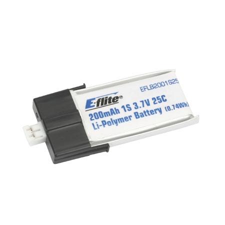 E-flite 1S 3,7V 200mAh 30C LiPo-Akku Horizon EFLB2001S30