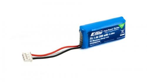 E-flite 2S 7,4V 200mAh 30C LiPo-Akku Horizon EFLB2002S30