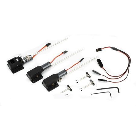 E-flite 15-25 elektr. Dreibeiniges Einziehfahrwerk Horizon EFLG230