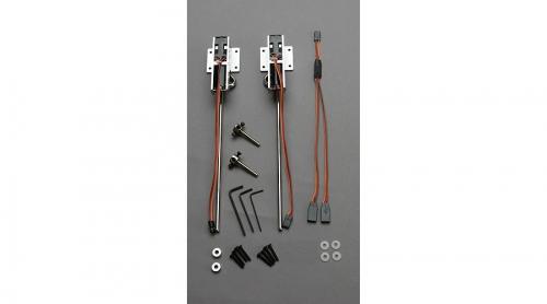 E-flite 60-120 81° elektr. Einziehfahrwerkseinheit: BF109 Horizon EFLG509