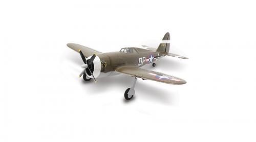E-flite UMX P-47 BL BNF Basic Horizon EFLU3250
