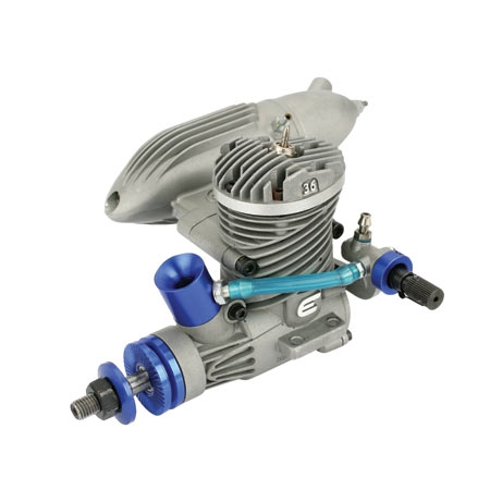 Evolution .36CL Motor m. Schalldämpfer Horizon EVOE0365