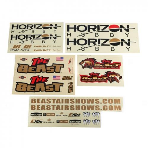 Hangar 9 Dekorbogen Set: BST 100cc ARF Horizon HAN105025