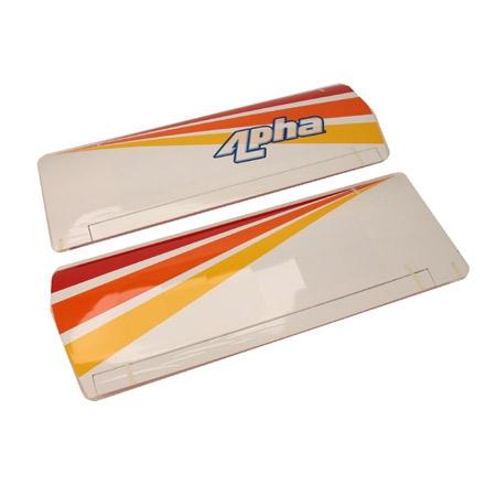 Wing Set w/ Alum Tube:Alpha R Horizon HAN2476