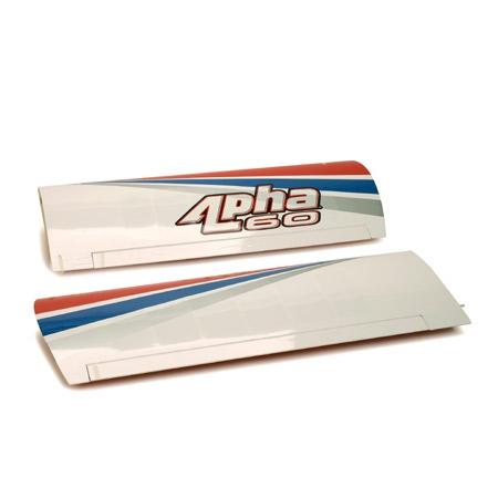 Wing Set w/Alum Tube: Alpha . Horizon HAN2601