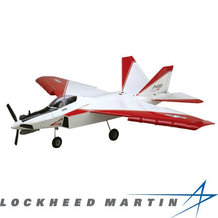 F-22 Raptor PTS ARF - Red/Whi Horizon HAN4375