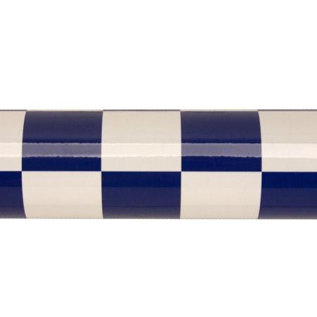 Hangar 9 UltraCote, 1 Squares, White/Blue Horizon HANU933