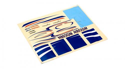 Hobbyzone Glasair Sportsman S+ : Dekorbogen Horizon HBZ7602