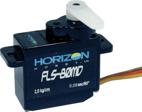 ES08MD  Digital Servo mit Metallgetriebe Horizon HFL1806