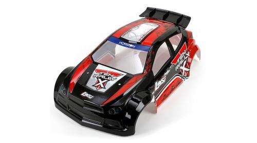 LOSI TEN Rally-X RTR: 1/10 4WD Rally RTR Karosserie Horizon LOS230000